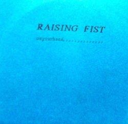 画像1: RAISING FIST-on your head...CDR(japan)